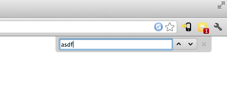 Fake Browser Search Bar