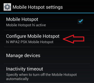 Configure Your Mobile Hotspot